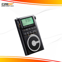 Free Shipping Retail/Wholesale Digital Stereo DEGEN DE1125 FM/MW/SW DSP Radio Recorder