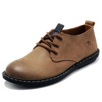 Camel shoes fashionable casual trend shoes single shoes commercial leather male genuine leather