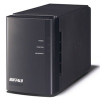 Buffalo ls-wxl Pro Duo 2-Bay Diskless Enclosure 41.5M/s support 6TB  usb Network Attached Storage(NAS) Networking