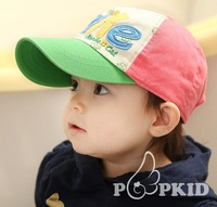 2013 Summer Hot sell casual  Baseball cap suitable for 3 to 10 years old kids sunbonnet FREE SHIPPNG
