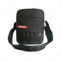 Fashion Men's Shoulderbag Messenger Bag Toiletry Kits Package Black Free Shipping
