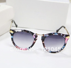 new arrival !matel women lacework frame fashion Shade Sunglasses 4 color UV400 freeshipping(China (Mainland))