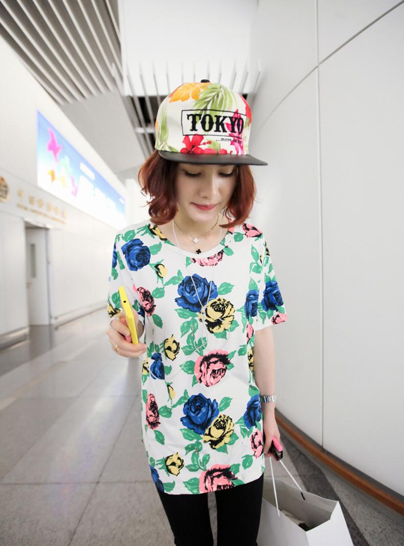 Xu hướng thời trang áo in hoạ tiết 2013