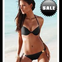 Free shipping/push up swimwear women bikini sexy beach swimsuits VS bikini Tankini for girl bathers beachwear swim suit