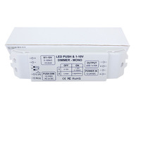 2xPWM LED Dimming Driver , support linear dimming or logarithmic dimming,use repeaters to control  lamps,DHL/Fedex Free shipping