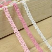 Wholesale Low Price 100% Soft Cotton Lace 50 yards/lot