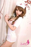 cheapest,Sexy lingerie pinprincess dress+g string set sleepwear costume sexy sleepwear,sexy kimono,sexy uniform8128-1pcs-white