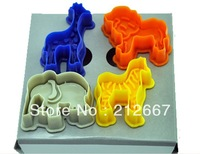 New 2013 fondant mould ,3D cookie cutter animal mold cake decorating tools  free shipping