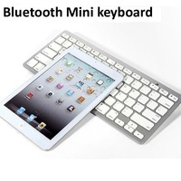 Hot item bluetooth wireless mini keyboard for iPad mini 50pcs/lot free shipping by dhl