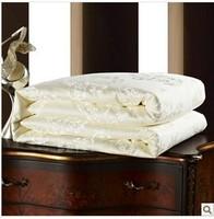 Professional textile supplier! Spring&autumn hand made  pure mulberry silk quilt/duvet/comforter.