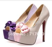 2013 news Fish head high heels nightclubs thick crust waterproof high heel wedding shoes for women