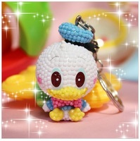 donald duck cartoon doll keychain mobile phone chain package