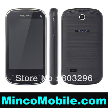 "( in Stock 2Pcs ) 3.5"" Capacitive Screen S6810 Quad Band Dual SIM Smart Phone Android 2.3 SC6820 1G Mhz Cpu / 256M RAM"
