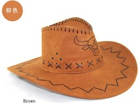 adults leather western cowboy hats, style wholesale womens mens tourist caps for travel,unisex outdoor performance hat