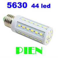 8W 5630 LED Bulb E27 SMD 44 LED Corn Light E14 Living Room Kitchen Lamp Super Bright 360 degree HK Free Shipping 5pcs/lot
