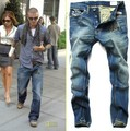 Hot sale ! Free Shipping ,fashion jeans, 2013 New Arrival Newly Style famous brand Cotton Men&#39;s Jeans pants,size 28-40,#9195