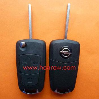 High quality Opel 3 button flip remote key shell, Opel key blank,Opel remote key case