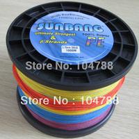 Free shipping 200LB 0.75mm 8 strands 1000M PE Braide Steel Fishing Line Spectra Braid Fishing Line --SUNBANG