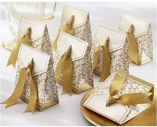Hot sale 100pcs Creative European personality Gold silver time joyful box,Wedding candy box,Free Shipping(China (Mainland))