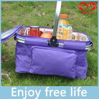 Picnic basket picnic bag ice pack food basket