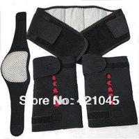 Tourmaline self-heating  support knee support protecting waist Neck Belt  adjustable 1sets