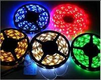 20pcs Super Bright 5 METERS 300SMD 5050 LED Strip Rope Light RGB Waterproof RGB flexible 12V DC+24 key IR controller
