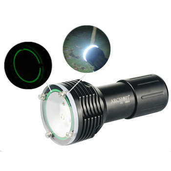 100 Meter Waterproof CREE XM-L U2 2LED 1400 lms 5000K 3-mode Diving Flashlight New Free Shipping