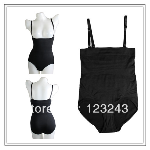 Sexy Mature Women Seamless Lingerie Super Body Briefer Slimming Shaper Bodysuit Underwear(China (Mainland))
