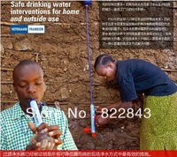 Portable Life Straw 240g Length 31cm/ diameter 3cm /Camping Water filter outdoor/Best Quality