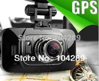 Free Shipping Ambarella GS8000 GPS Car DVR 1080P Full HD Motion Detection Night Vision Wide Angle HDMI 5M Camera 2.7 16:9 LCD