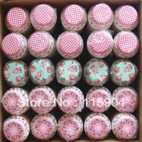 2013 gift 400pcs wedding party cupcake liners baking cup muffin cake holder bakeware cake tool  cake decoration baking pan  tin