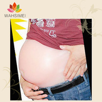 Silicon pregnant belly,silicon fake belly ,silicon fake tummy,artificial baby tummy for pregnancy