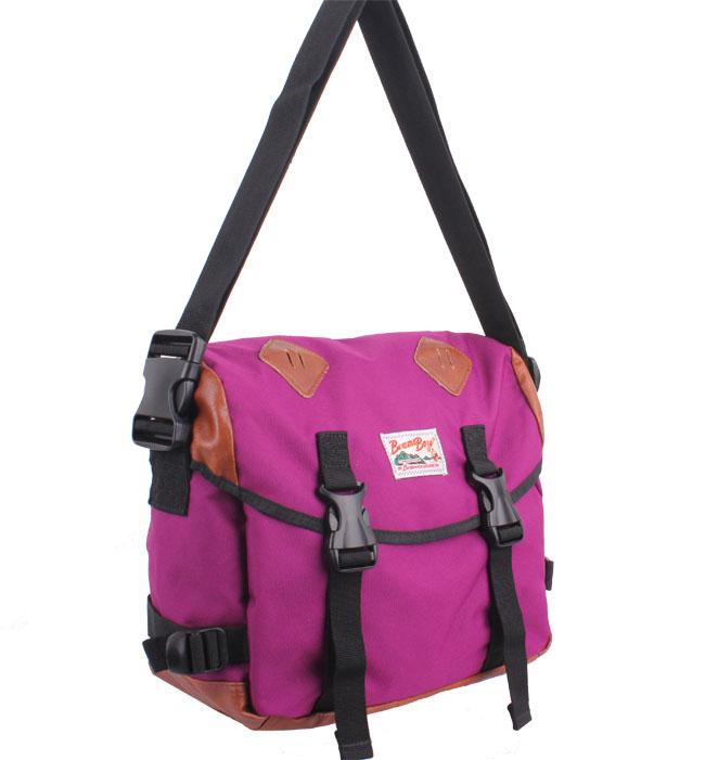 Beams boy shoulder bag messenger bag vintage messenger bag gym bag travel bag student bag(China (Mainland))