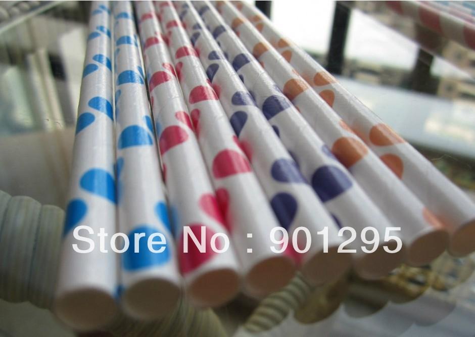 Striped Paper Drinking Straws Paper Drinking Straws