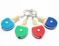 Gift table tennis ball light key chain table tennis ball with light toy gift