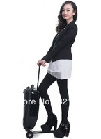 Free Shipping micro scooter suitcase luggage scooter popular in the world