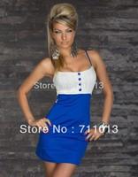 European style wholesale halter cute dress, sexy party  wear, club dress M XXL plus size