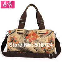 Print canvas bag fashion shoulder bag messenger bag handbag the trend 2013 women's bags