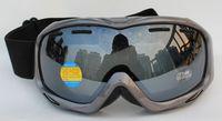 Free Shipping Double Lens Polarized Anti Fog Windproof Ski Goggles UV400 Protection Snowboard Glasses Ventilation holes Men