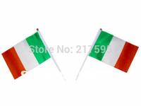 Free shipping wholesale Ireland National flags 14*21 cm