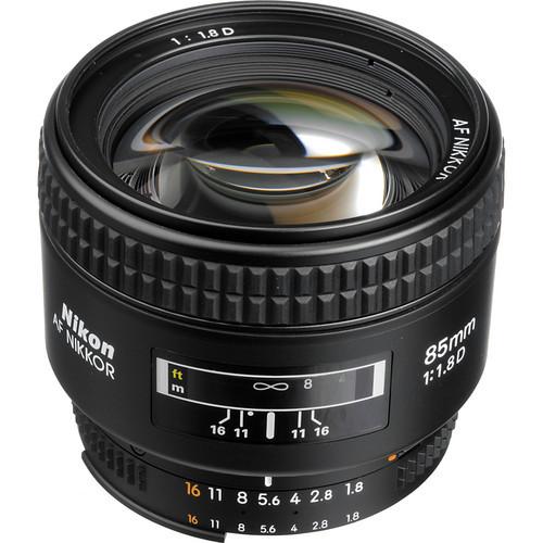 Nikon 85 1.8 D Dslr Camera lenses Nikkor AF 85mm f/1.8D professional portraits lens for D90 D7000 D300 D600 D700 D800 D3 D4(China (Mainland))