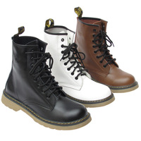 Free shipping 2011 swept the world cool fashion men's genuine leather boots leather 8 martin boots