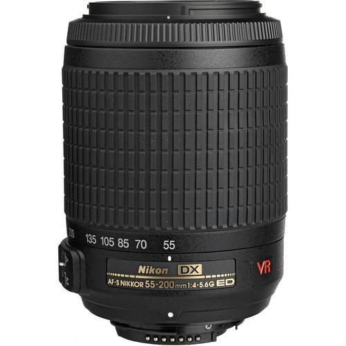 Nikon AF-S DX 55-200mm f/4-5.6G ED-IF VR Vibration Reduction Lens Nikkor lenses for D3300 D5300 D90 D7100 D300 DSLR Cameras(China (Mainland))
