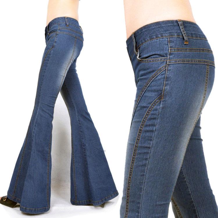 شلوار جین پاچه گشاد