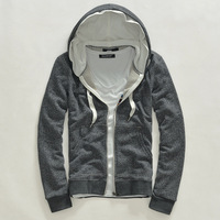Spring sweatshirt male 2013 fashion hooded sweatshirt slim Men spring