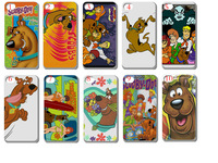 Unique Newest Designs!!wholesale 10PCS/LOT(10style) SCOOBY DOO hard case back cover for iPhone 5 5th 5S+free shipping