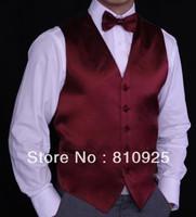 2013 wedding vest for men!custom made vests for groom