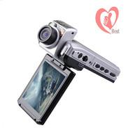 "Free Shipping HD(1440x1080) Digital Car Video Recorder Flash/Motion Detection/2.5"" LCD180 Degrees Rotation"