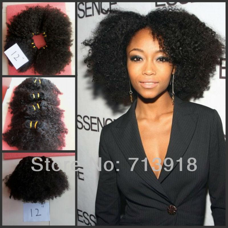 Kinky Human Hair Pieces 27