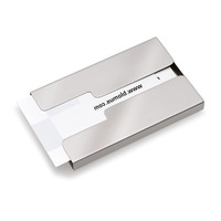 Blomus stainless steel business card box male fashion commercial 68255 day gift